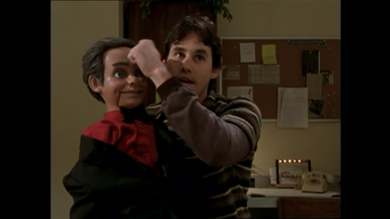 Xander with Sid the Dummy - Puppet Show