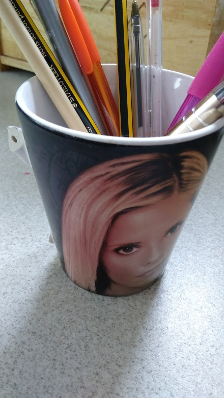 Buffy Mug / pen pot