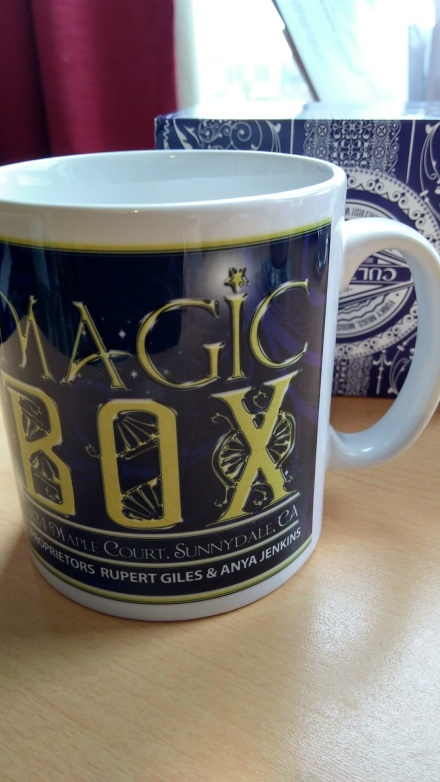 Giles and Anya's Magic Box Mug - Buffy